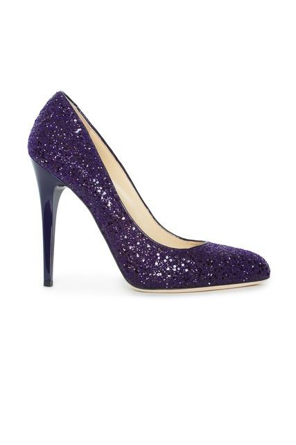 Туфли к фиолетовому платью