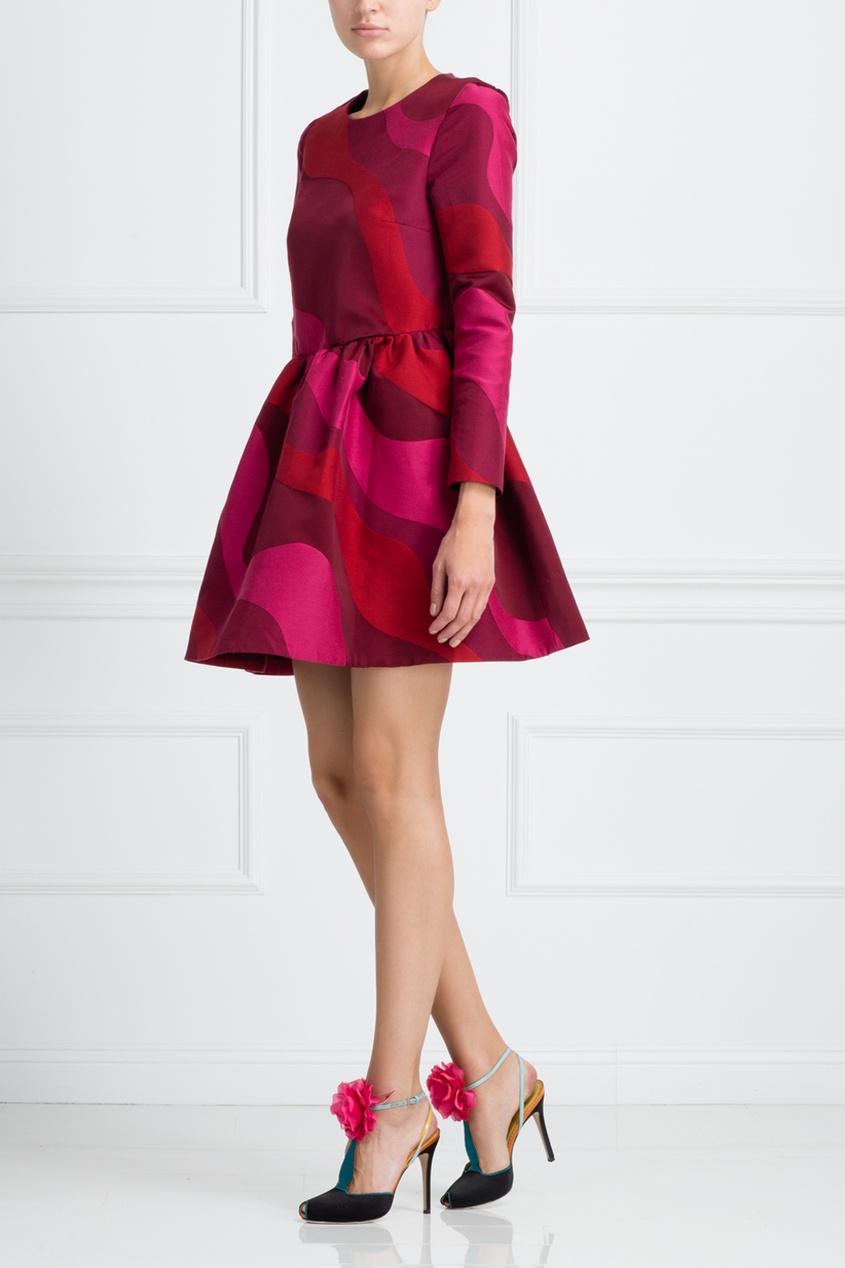 Платье с принтом Mallarme от AIZEL