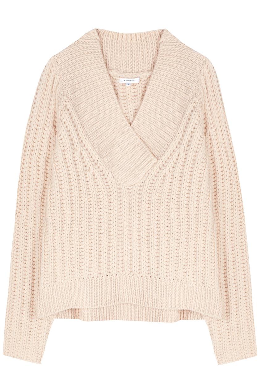 Шерстяной Пуловер Купить