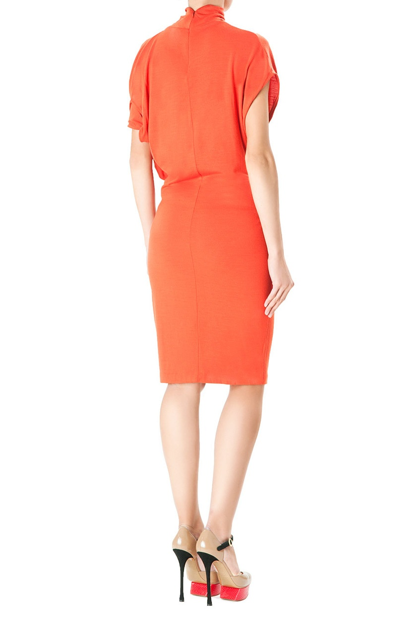 Оранжевое Платье Доставка